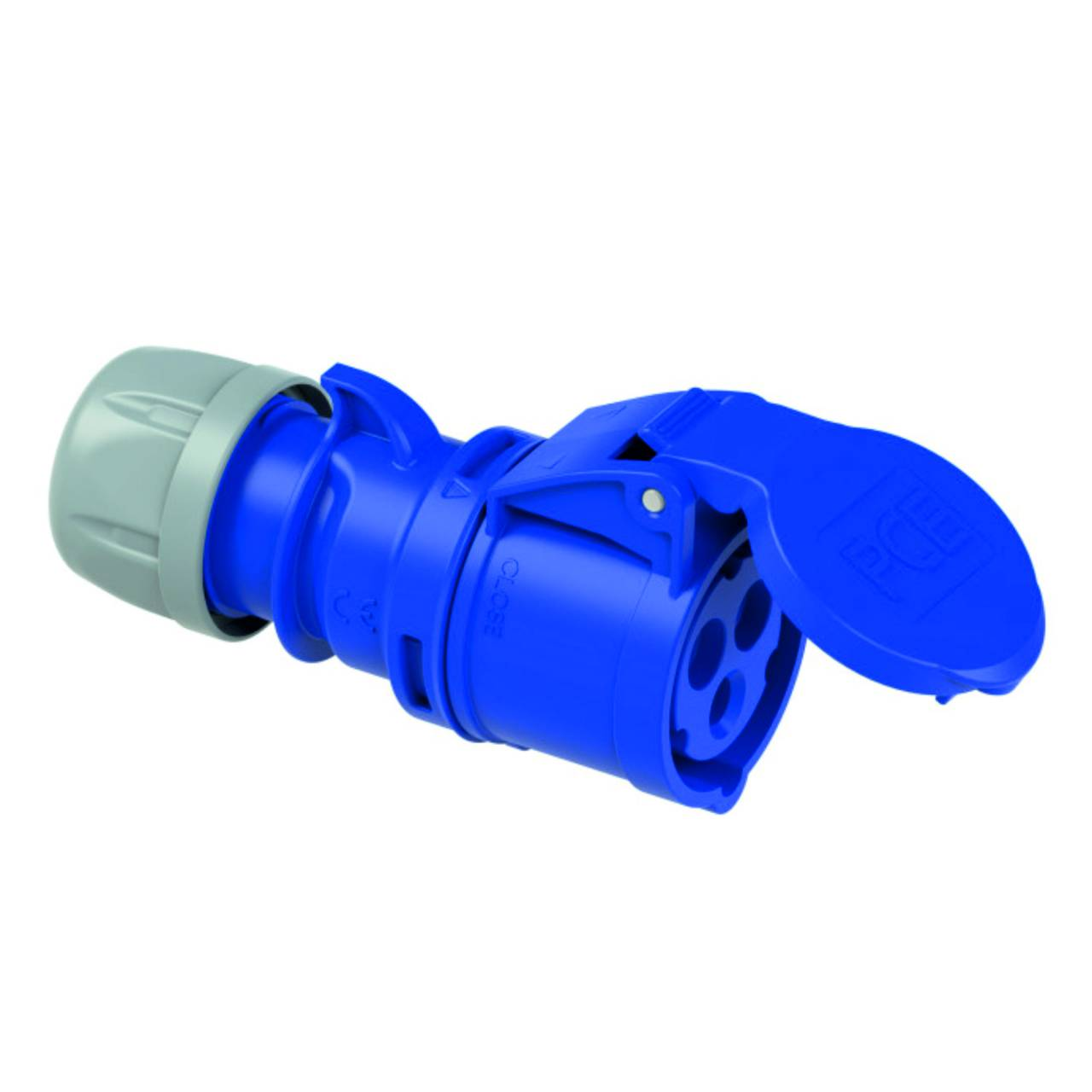 CEE-Stecker 3-polig, 230V /16 A, IP44, schraubbar