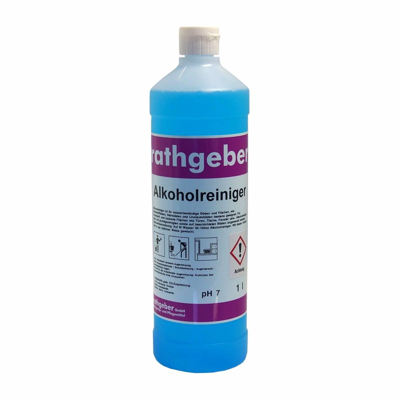 Alkoholreiniger blau 1,0 L PET-Flasche