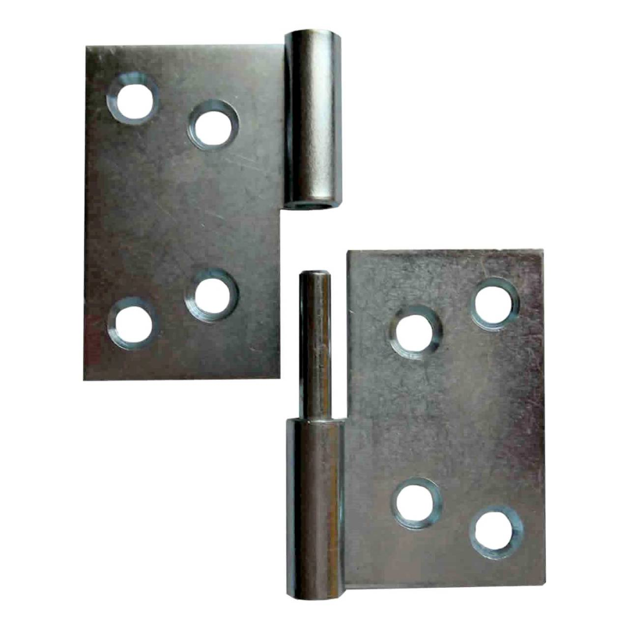 Aushebescharnier vz Links 60 x 80 x 2,0 mm / Pck a 2 Stück