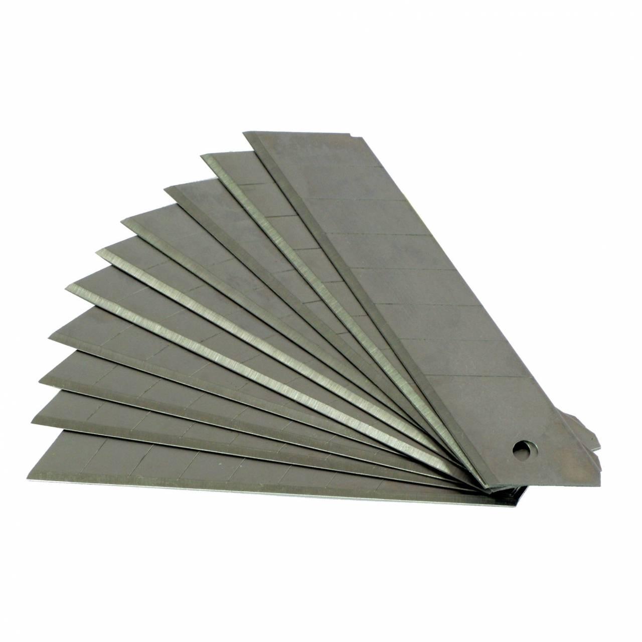 Abbrechklingen 9 x 0,4 mm, für Cuttermesser / 10-er Box