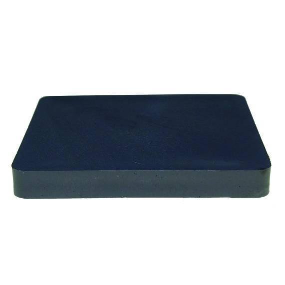 Montageplatten 70 x 70 x 5 mm, ohne Schlitz / Sack a 500 Stück