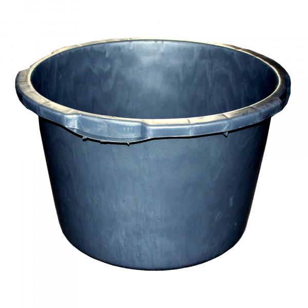 Mörtel-Kübel 40,0 l, Ø 50,5 cm, 'Jopa', schwarz, Skalierung