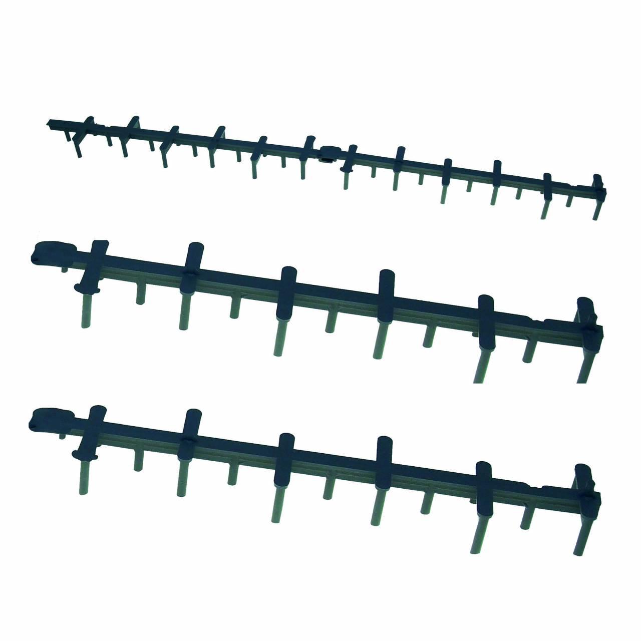 Stilett-25 / KST-Flächenabstandhalter 1,0 m / Krt a 9 Bund x 20 Stück