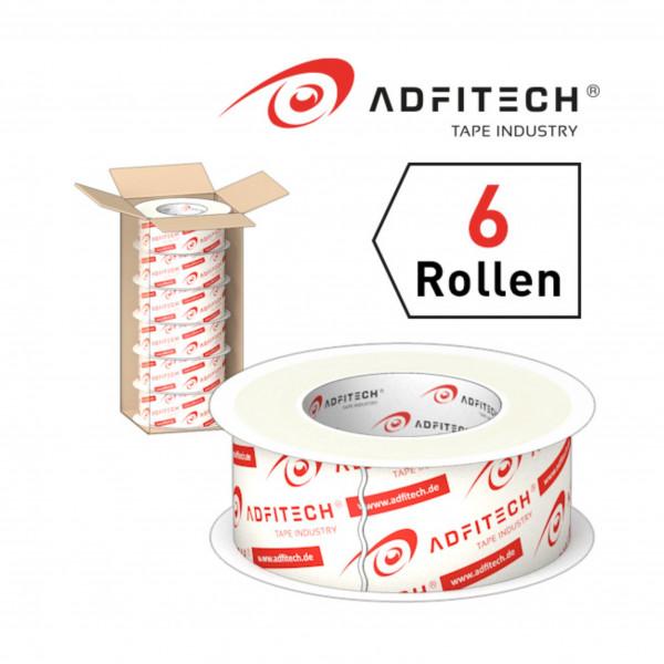 Adfitech Dichtklebeband AT230' 60 mm x 25 lfm / Krt a 6 Rollen