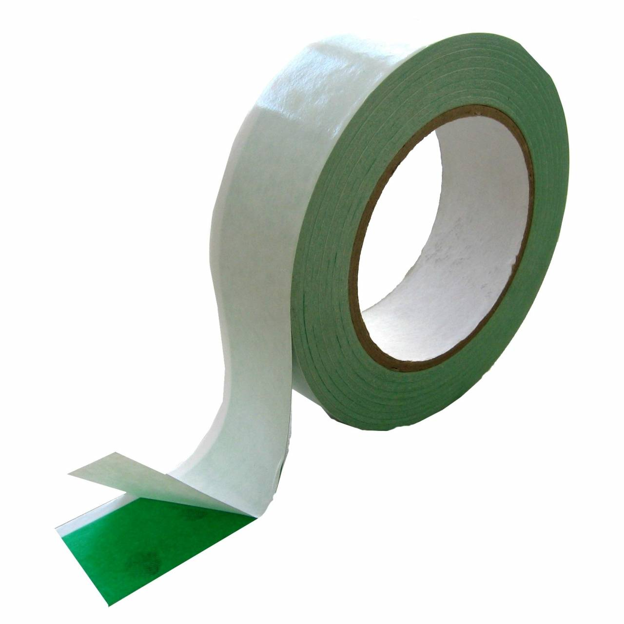 Double-Tape T022, grün-weiss 35 mm x 25 m / Rolle