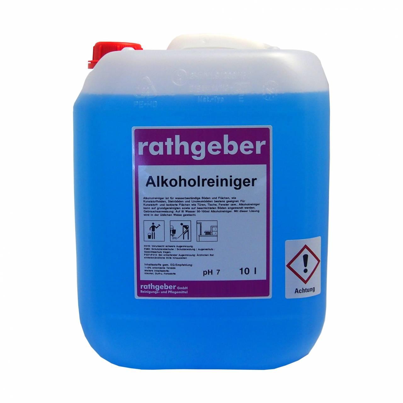 Alkoholreiniger blau 10,0 L PE-Kanister