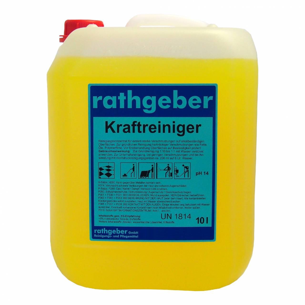 Kraftreiniger 10,0 l PE-Kanister