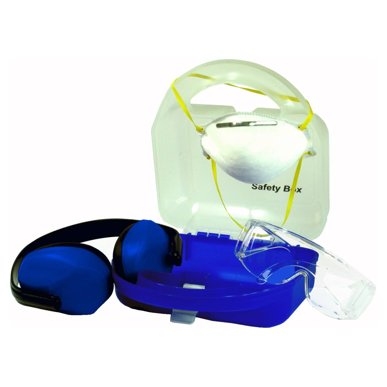 Safety-Box 'Atem-Auge-Gehör' / 3-teiliges Komplettset