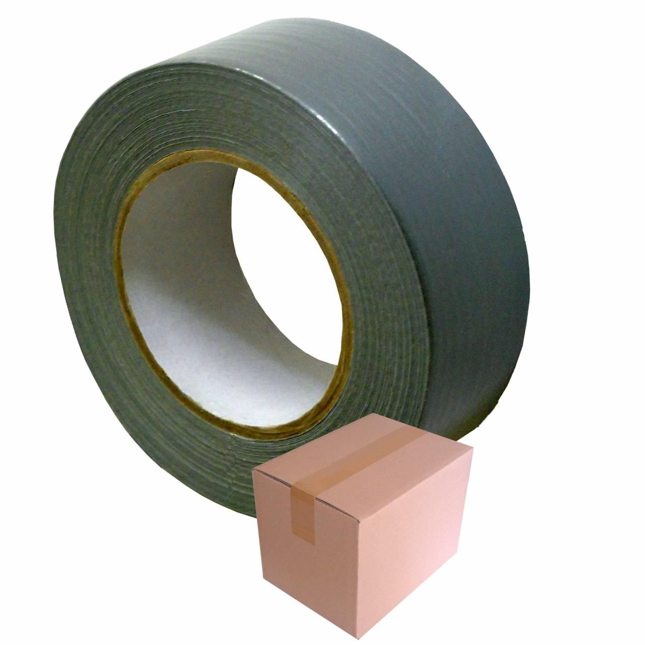 Gaffer-Tape T906 silber, 50 mm x 50 m / Krt a 24 Rollen