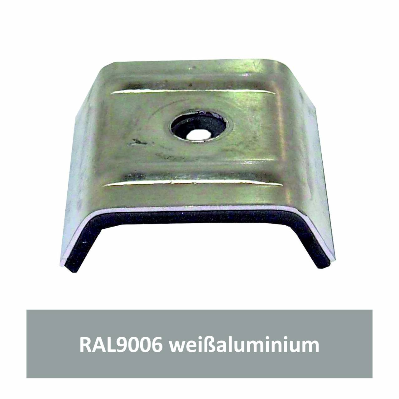 Kalotten für N1000T, Alu RAL9006 weißaluminium / Pck a 100 Stück