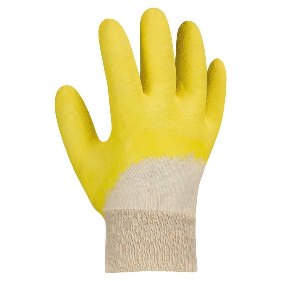 Latex-Handschuhe Gr. 10, Strickbund, Kat.1 / Paar
