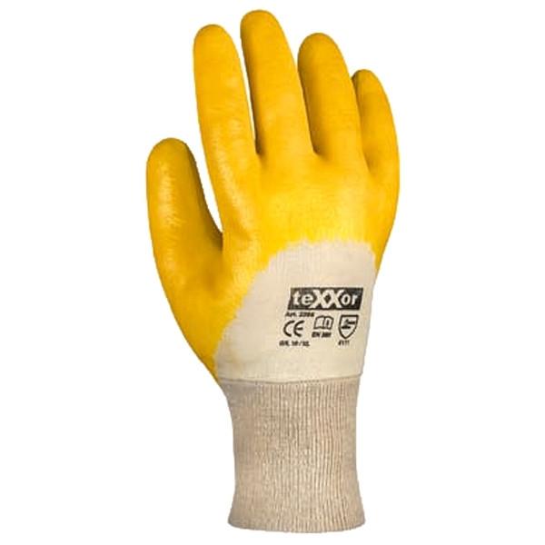 Nitril-Handschuhe Gr.10, Strickbund, EN388 Kat.2 / Paar