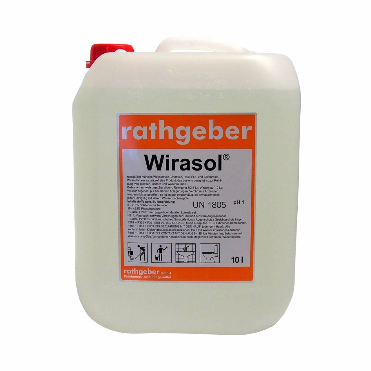 Sanitärreiniger 'Wirasol®' 10,0 L