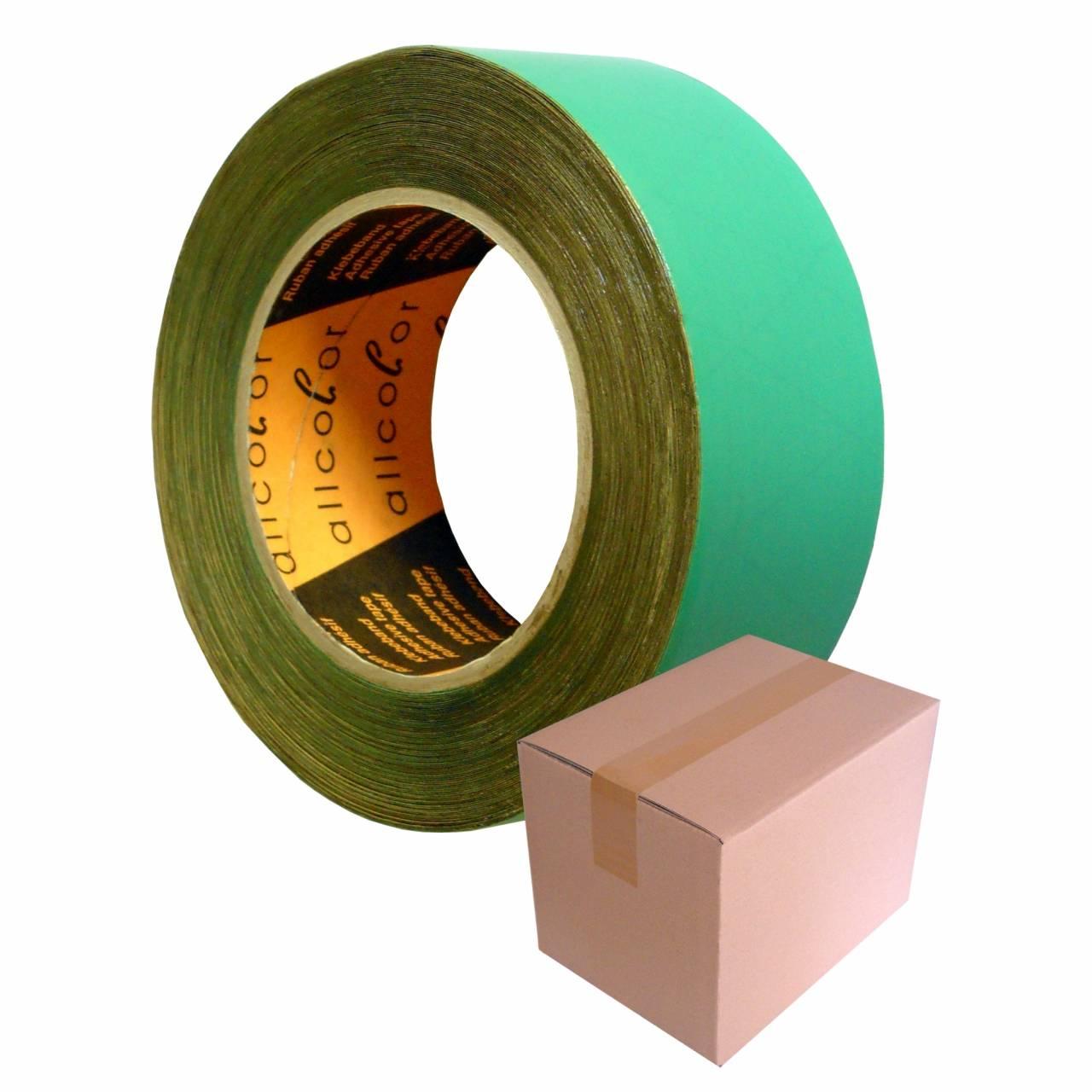 Folien-Nahtband T657, grün, 50 mm x 25 m / Krt a 36 Rollen
