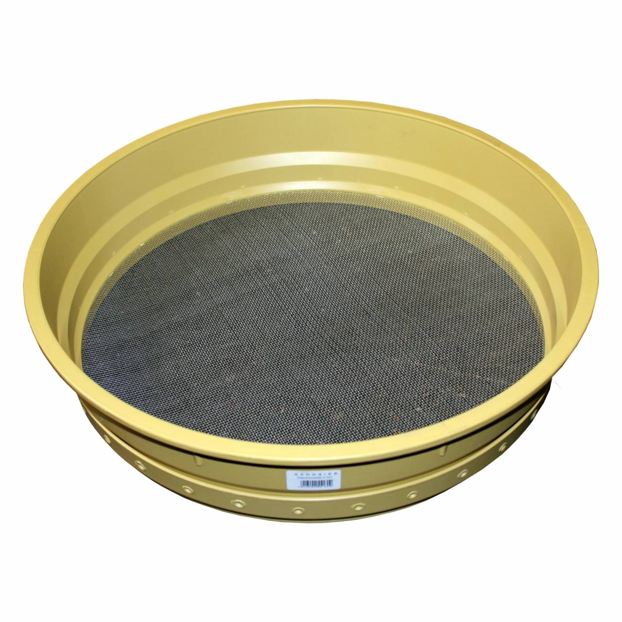 Sandsieb 2 mm / Ø 500 mm, Drahtgewebe, verzinkt