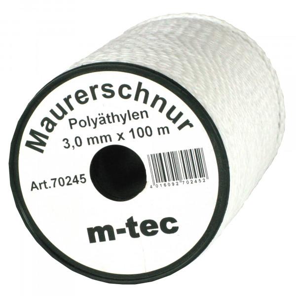 Lot-Maurerschnur 100 m x Ø 3,0 mm Weiss