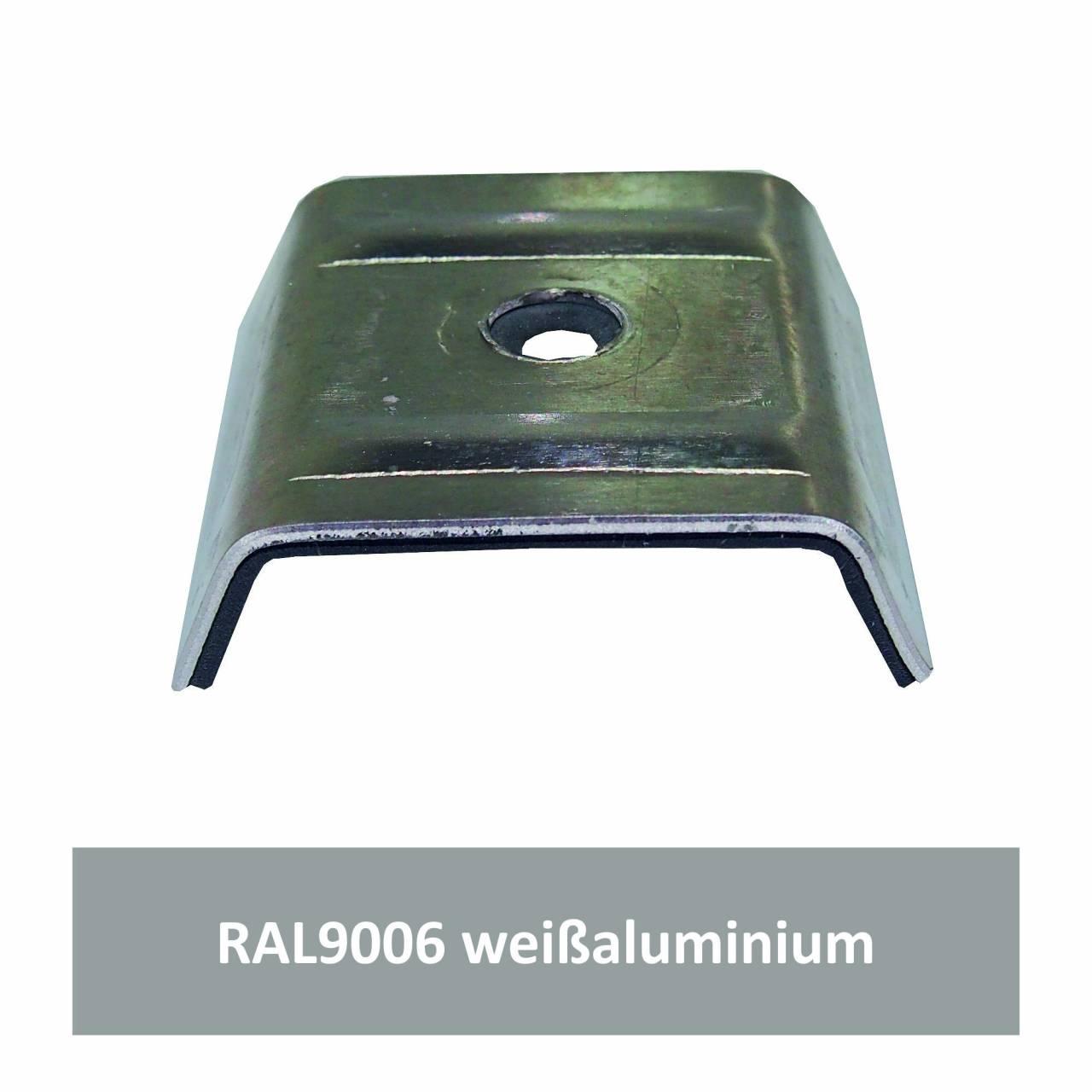 Kalotten für Kingspan, Alu RAL9006 weißaluminium / Pck a 100 Stück