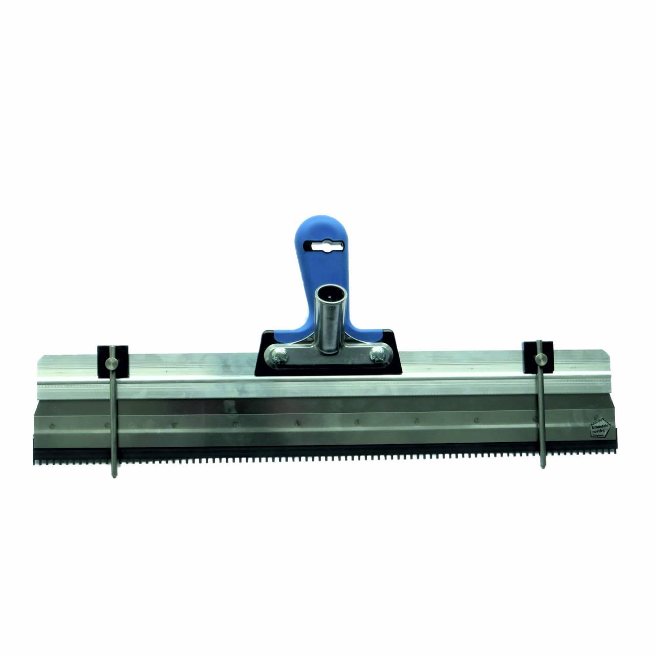 Stehrakel 560 mm, Zahnung 2 x 4 x 5 mm