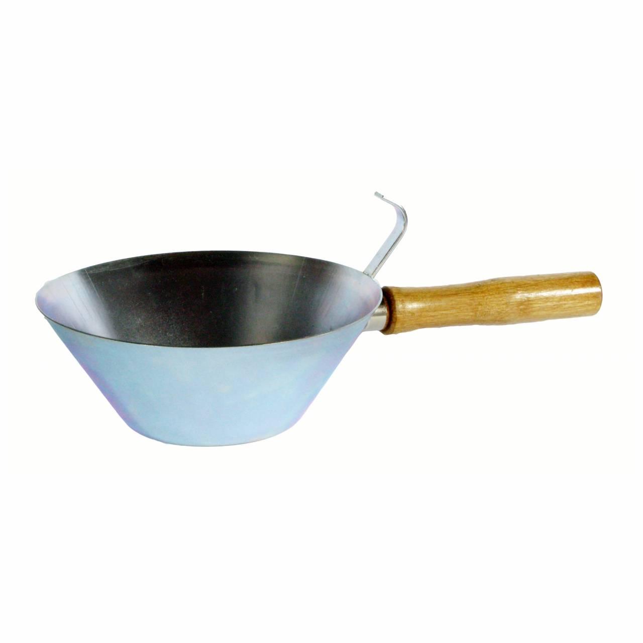 Gipserpfännchen Ø 150 mm, Zink, konische Form