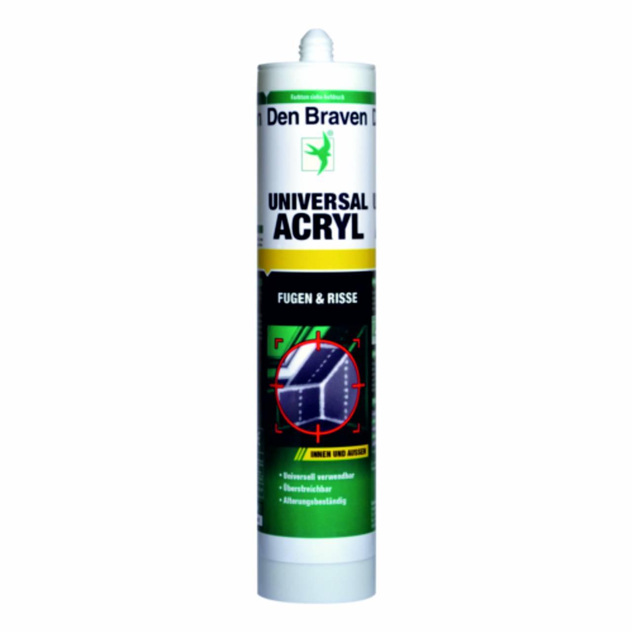 Acryl 'Den Braven®' 300 ml, grau