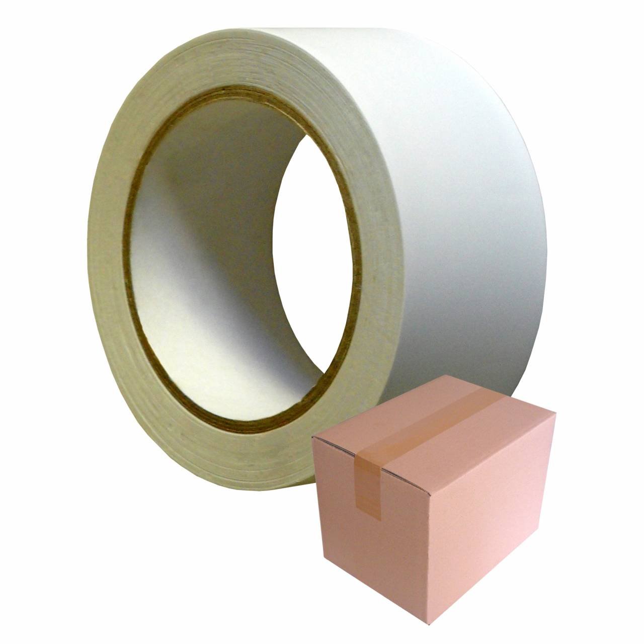 PVC-Band T-075 'EASY' 50 mm x 33 m weiss / Krt a 36 Rollen