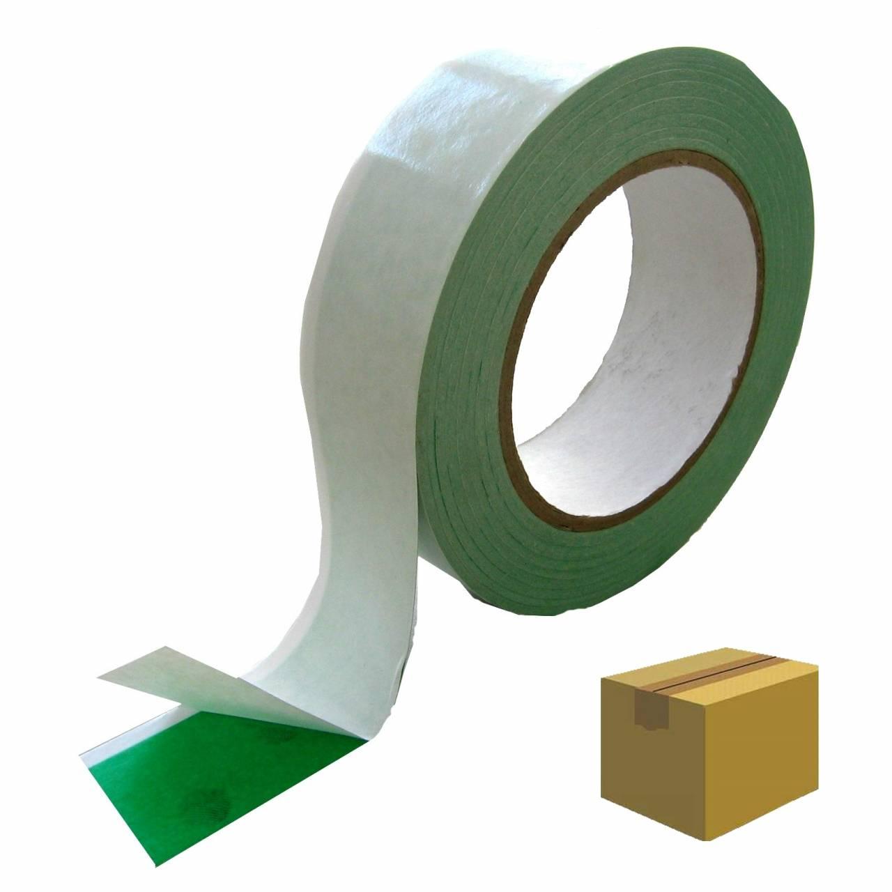 Double-Tape T022, grün-weiss 25 mm x 25 m / Krt a 54 Rollen