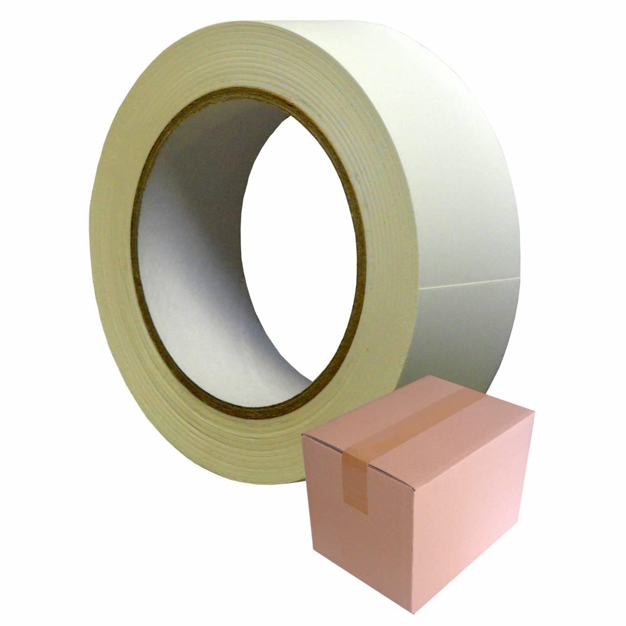 PVC-Band T005 Glatt 38 mm x 33 m weiss / Krt a 48 Rollen