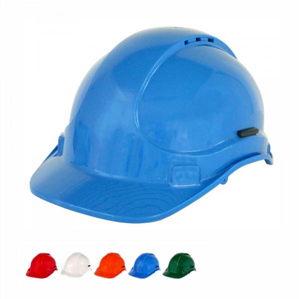 6-Punkt-Bauhelm EN 397 - blau