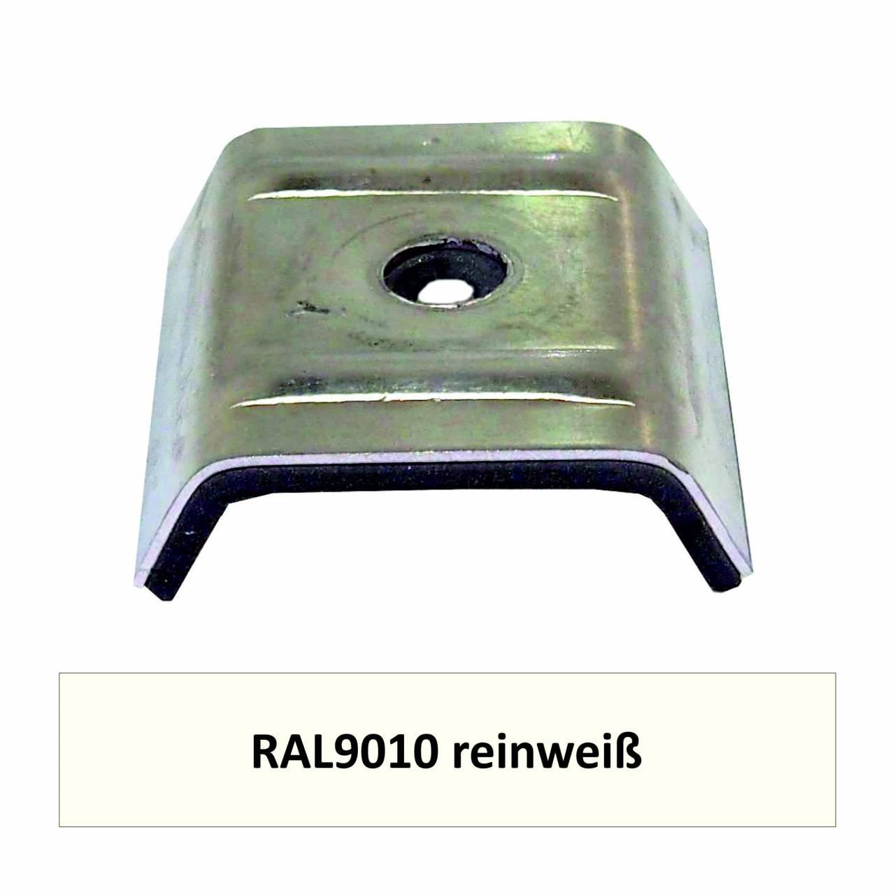 Kalotten für N1000T, Alu RAL9010 reinweiß / Pck a 100 Stück