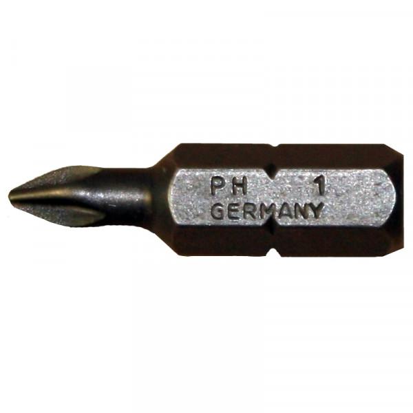 Schraubklinge / Bit 'Witte' PH-1 / Pck a 10 Stück