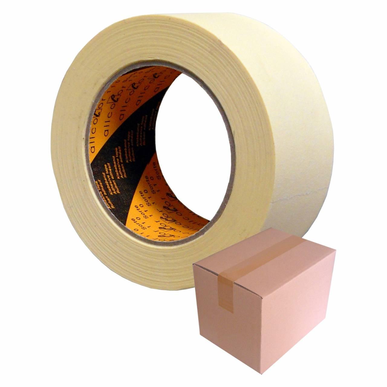 Feinkreppband T101, 25 mm x 50 m / Krt a 36 Rollen