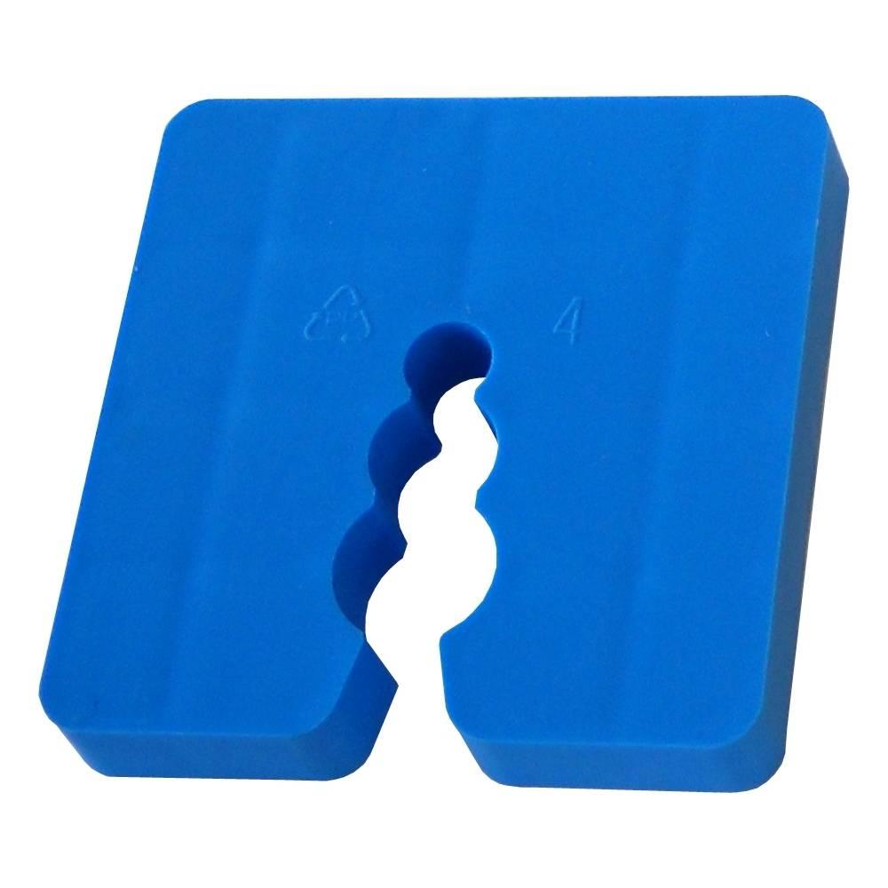 Distanzstück / Abstandhalter blau 8 mm / Btl a 100 Stück