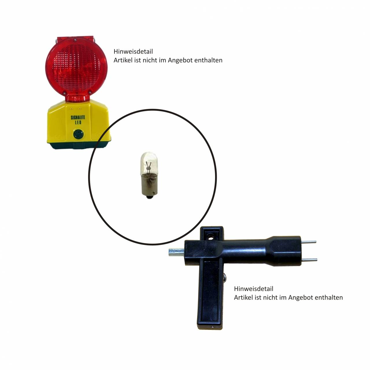 Glühlampe für 'Signalite', 5V / 0,9A