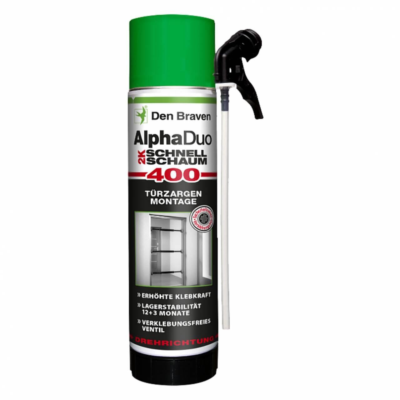 Montageschaum 'Alpha-Duo' 2-K, B2, 400 ml Dose