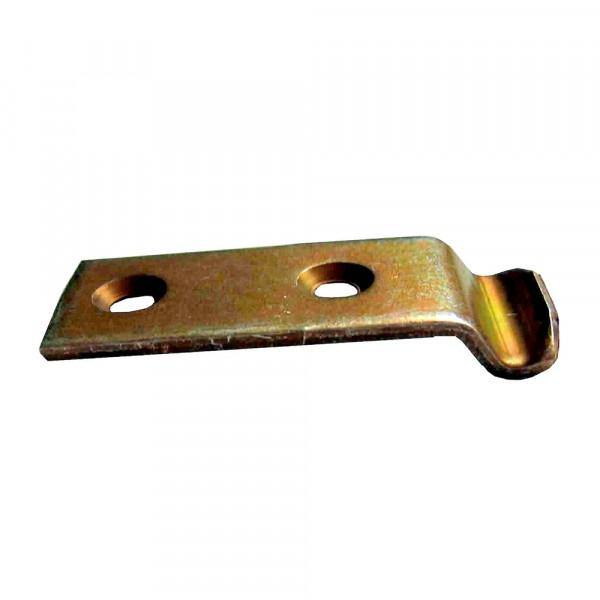 Schliesshaken gekröpft vz 46 x 18 mm / Pck a 2 Stück