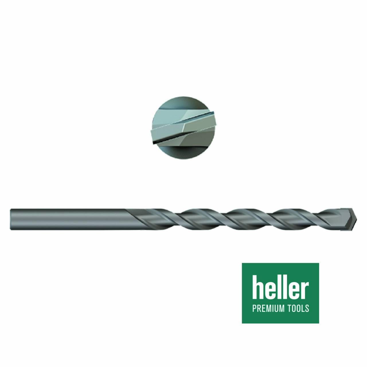 Betonbohrer 'Heller®' Ø 5 x 50 x 90 mm
