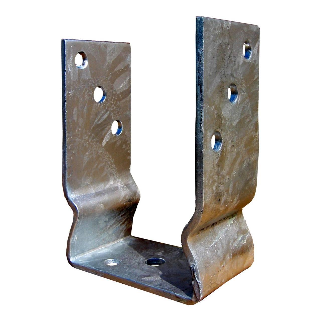Stützenfuss vz S-U-Form 121 mm, aufschraubbar