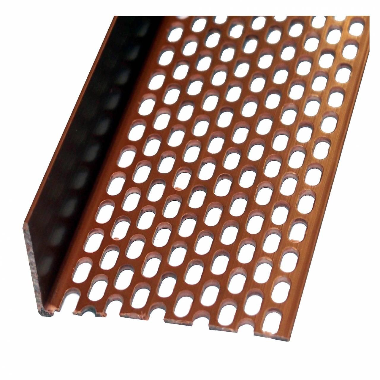 Lüftungsprofil 30 x 60 ziegelrot / Bd a 10 x 2,5 m Stäbe