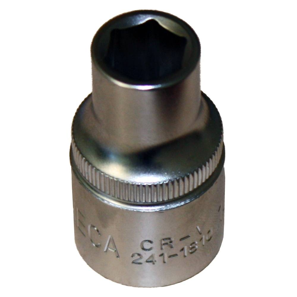 Sechskant-Steckschlüssel-Einsatz 15 mm, CrV
