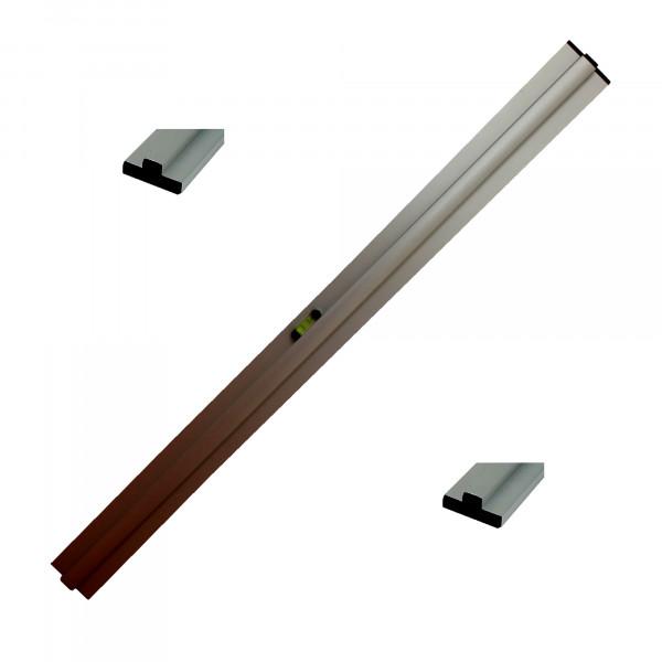 Grundschiene für Trockenschüttgut-Abziehlehre 200 cm