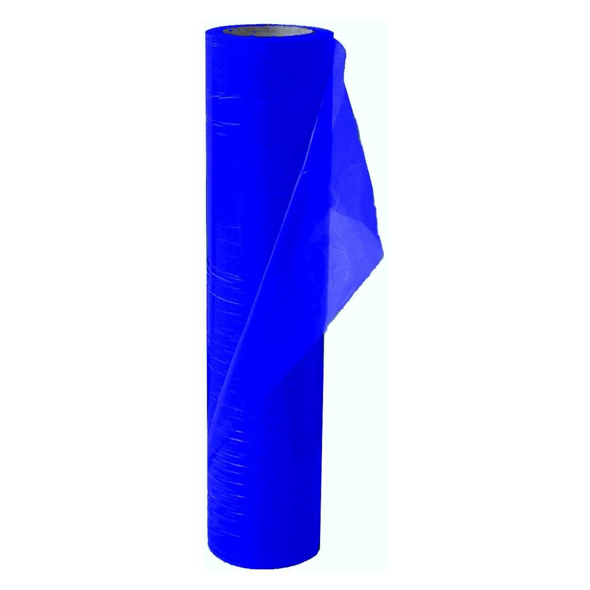 PE-Schutzfolie (Glasschutzfolie) blau 125 mm x 100 / Rolle