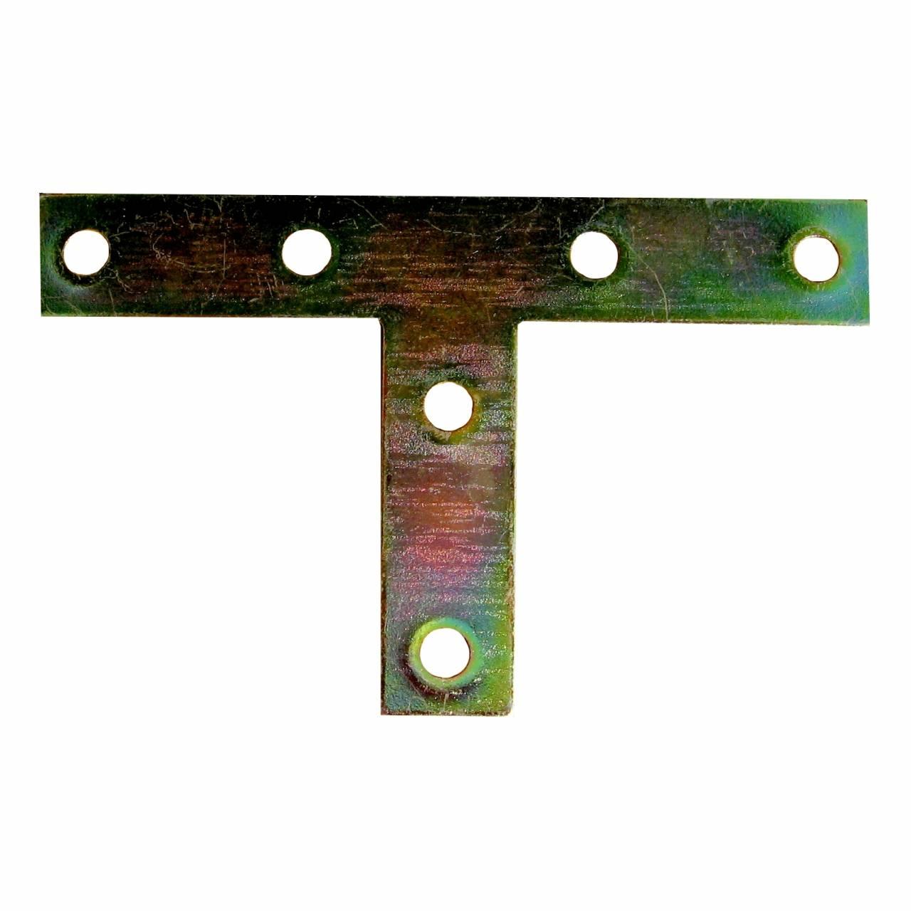 T-Flachwinkel vz 120 x 54 x 16 mm / Pck a 2 Stück