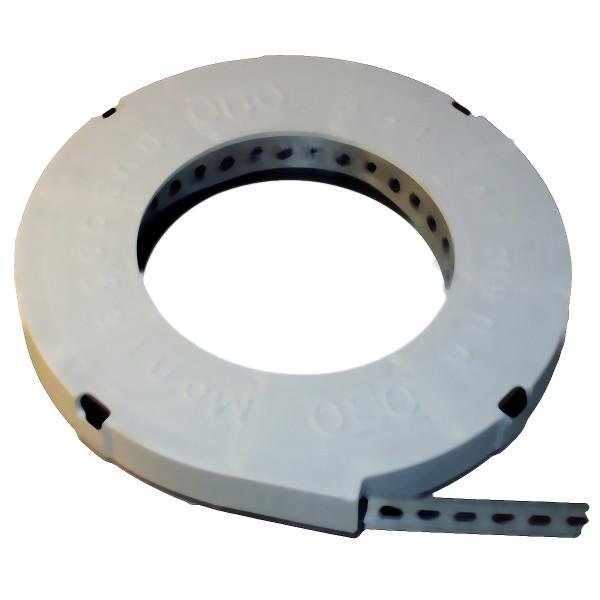 Montage-Lochband vz 12,0 x 0,8 mm x 10 lfm