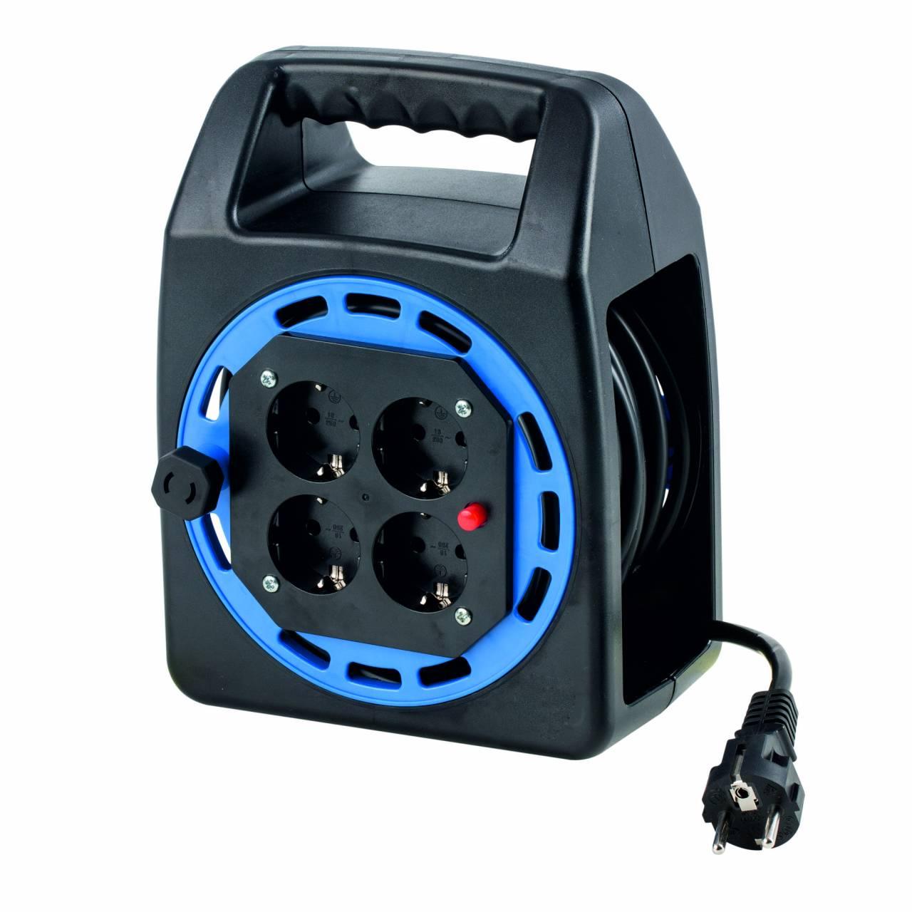 Kabeltrommel 'Kompakt-40015' 230V, H05VV-F 3G1,5 / 15 m