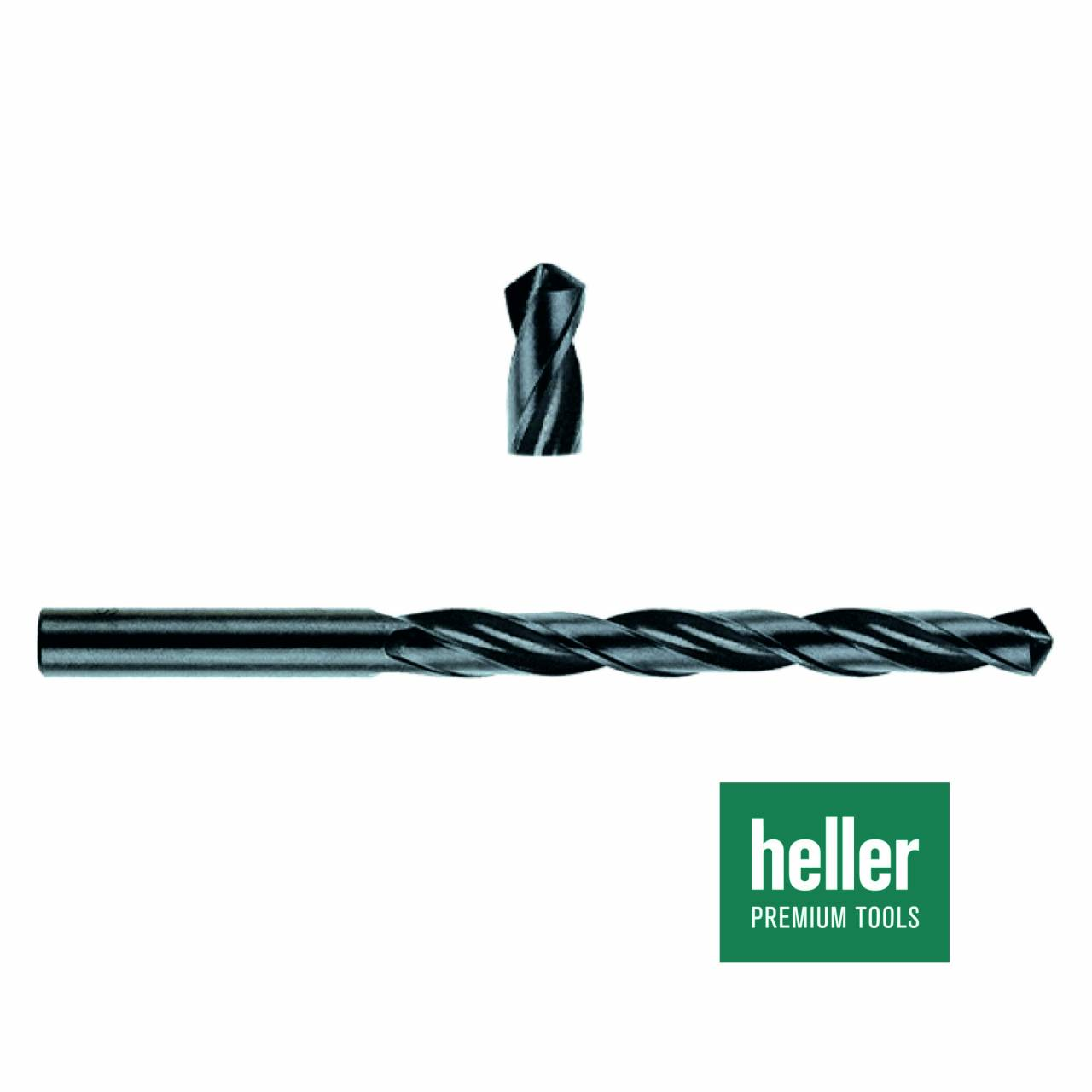 Stahlbohrer HSS-R 'Heller®' Ø 10 x 87 x 133 mm