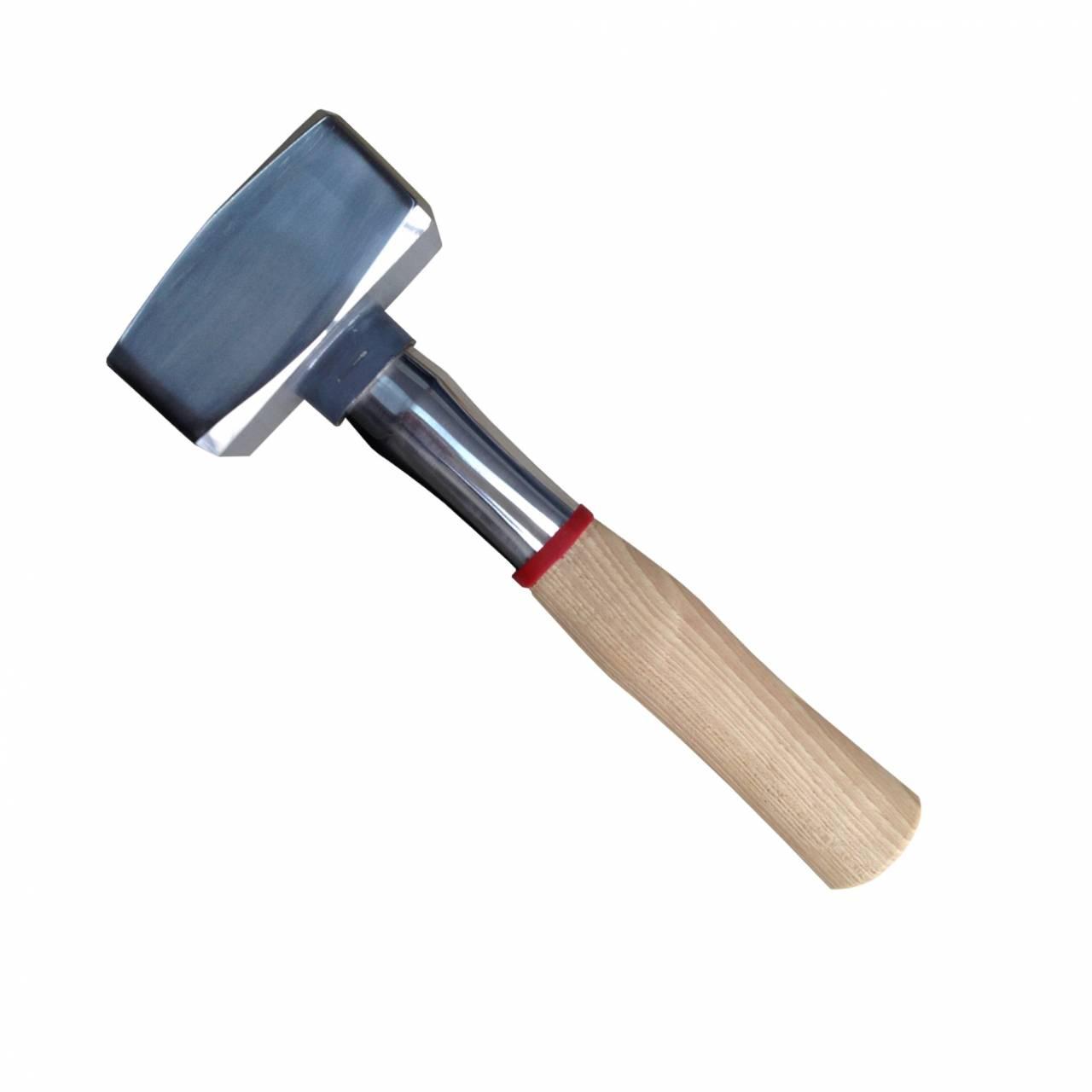 Fäustel 1,25 kg, 'Bau-Pro', mit Schlagschutzmanschette