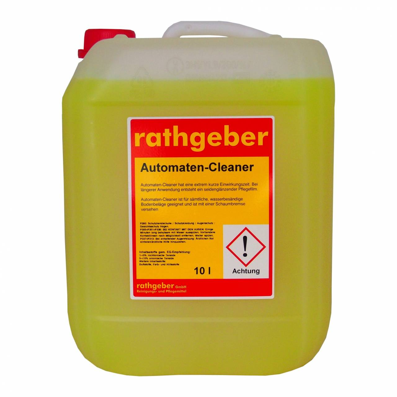 Automaten-Cleaner 10,0 L PE-Kanister