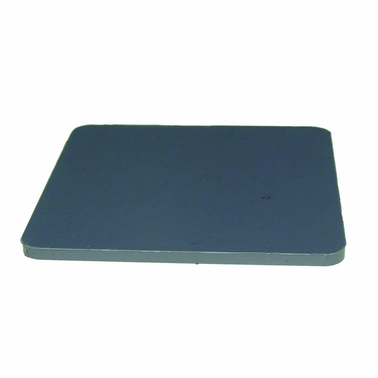 Montageplatten 70 x 70 x 3 mm, ohne Schlitz / Sack a 1000 Stück