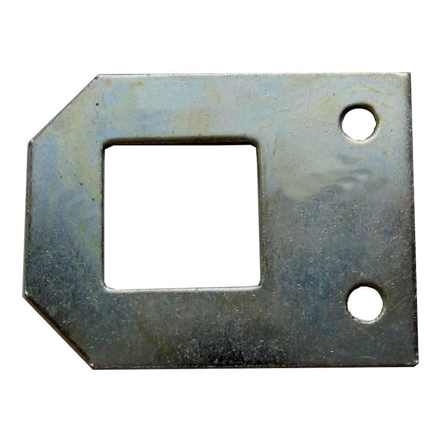 Spiegelbleche 33 x 24 mm / Pck a 10 Stück