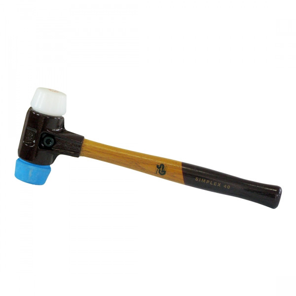 Simplex-Schonhammer Ø 40 mm TPE-Soft / Superplastik